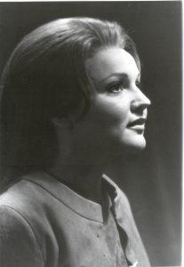 Bruennhilde at Bayreuth Wagner Festival in 1974